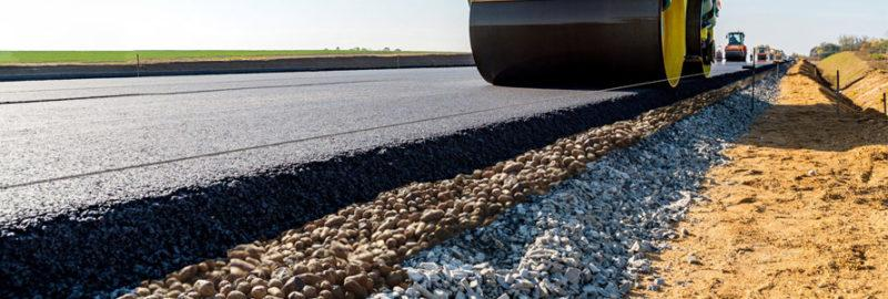 Применение керамзита при укладке дорог