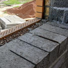 строительство дома из керамзита