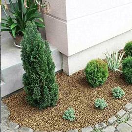 керамзит в саду